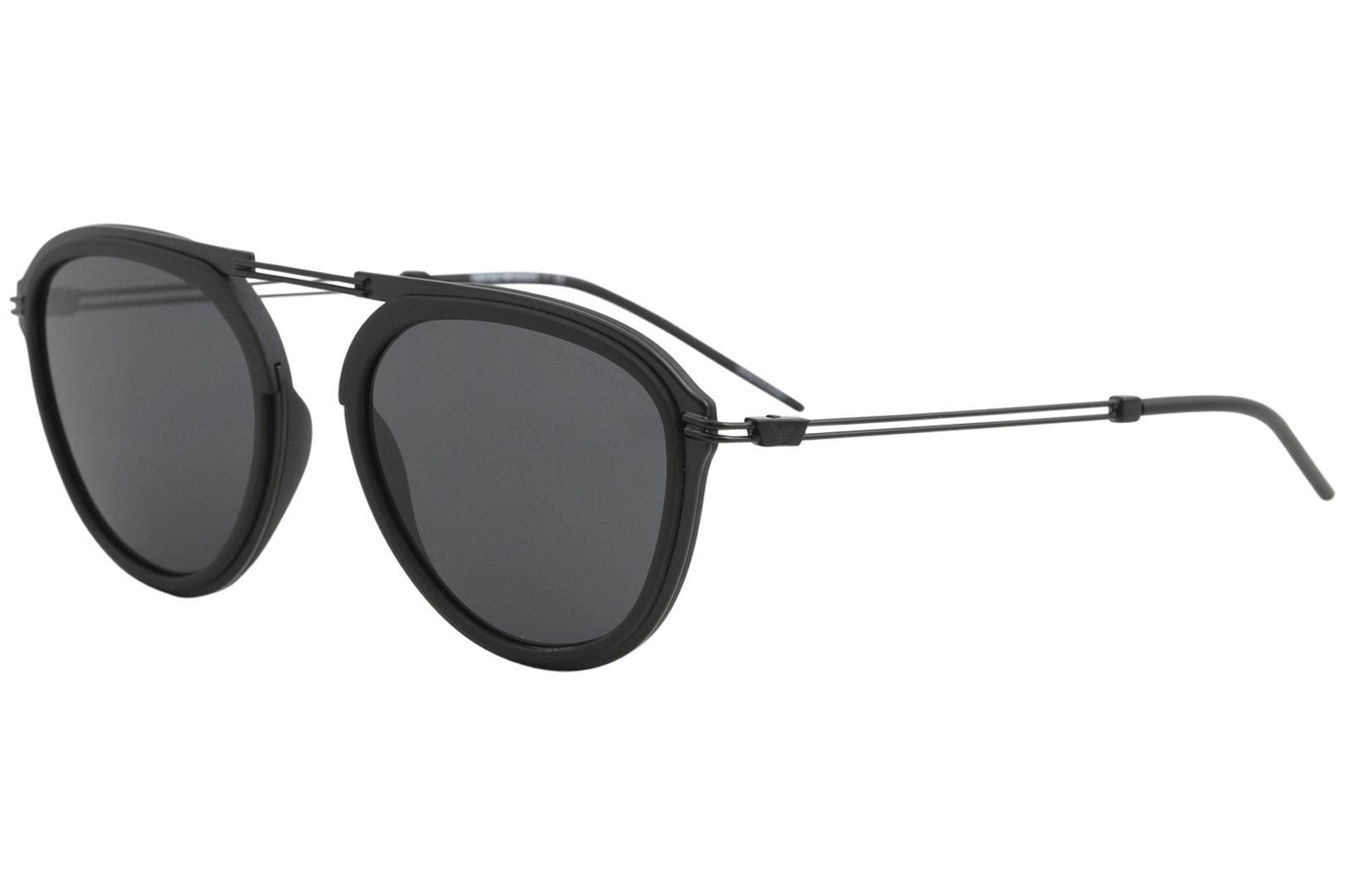 c87fd648c2b2 Emporio Armani Men s EA2056 EA 2056 Fashion Pilot Sunglasses by Emporio  Armani. Touch to zoom