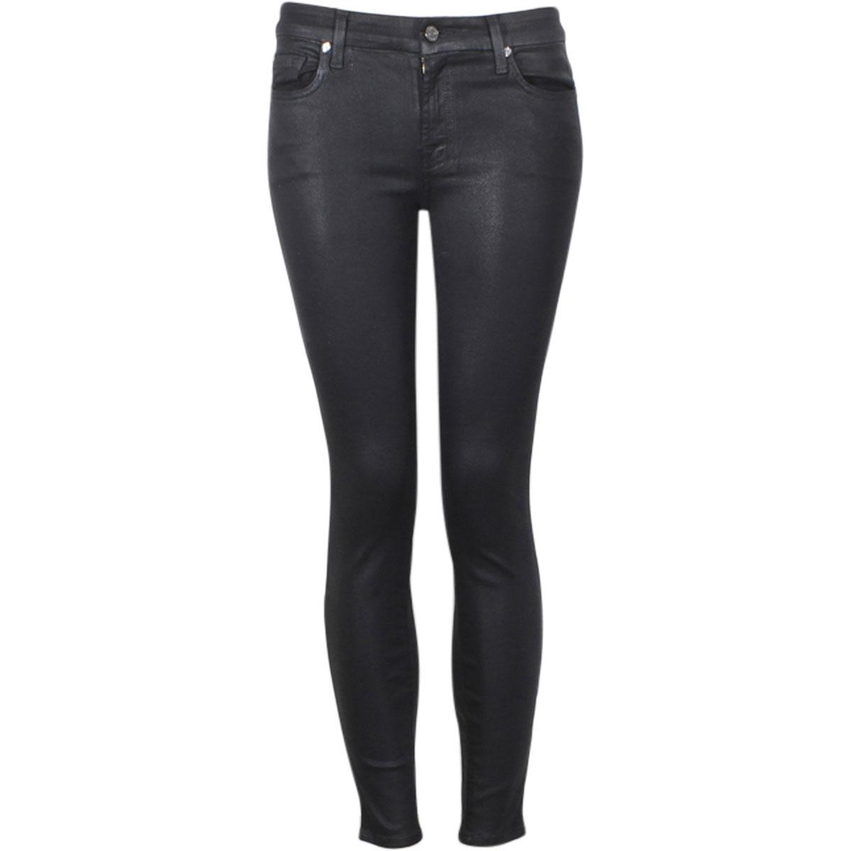 558af3f716 7 For All Mankind Women's The Ankle Short Inseam Skinny Jeans