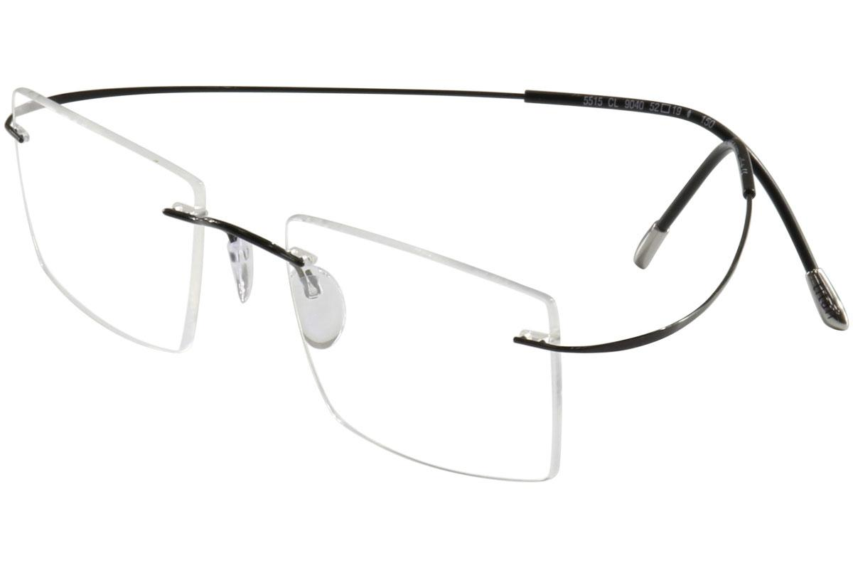 e0355c4b4563 Silhouette Eyeglasses TMA Must Collection Chassis 5515 Rimless ...