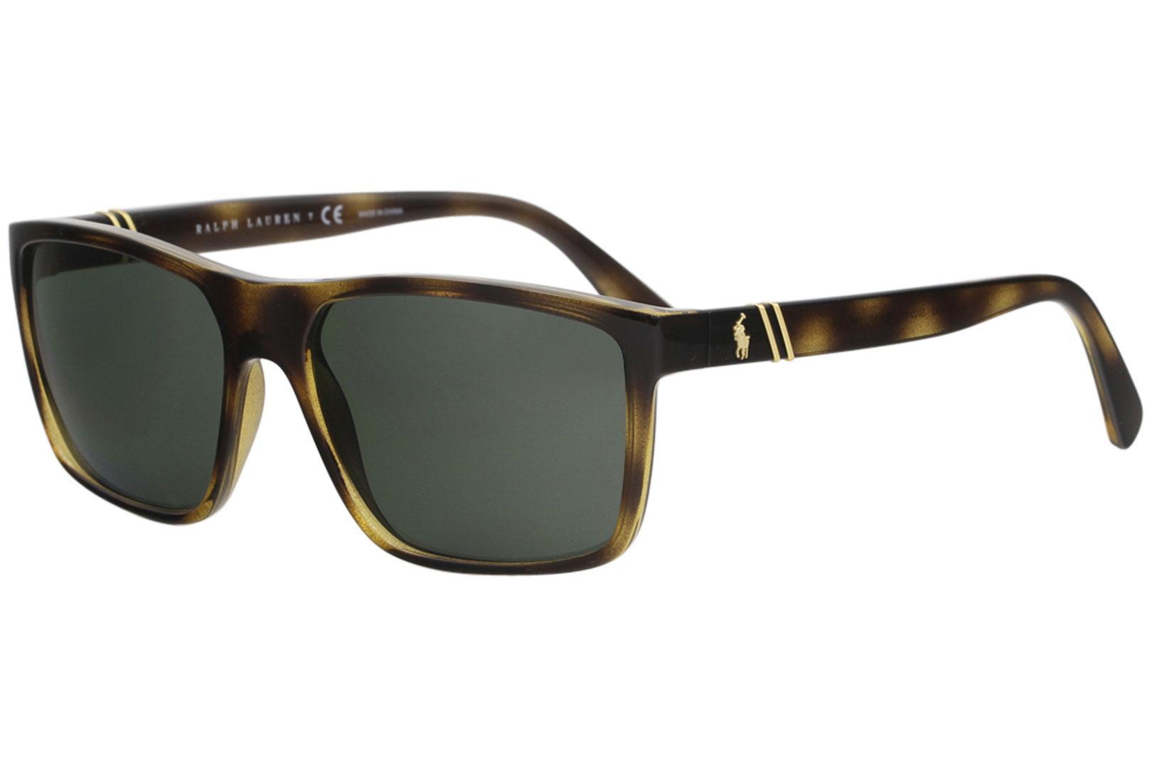 Ralph Lauren Ph4133 Men's Polo Fashion Sunglasses Rectangle A3Rjq54L