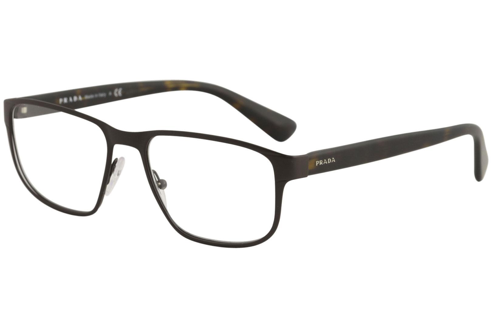 Prada Men\'s Eyeglasses VPR56S VPR/56/S Full Rim Optical Frame