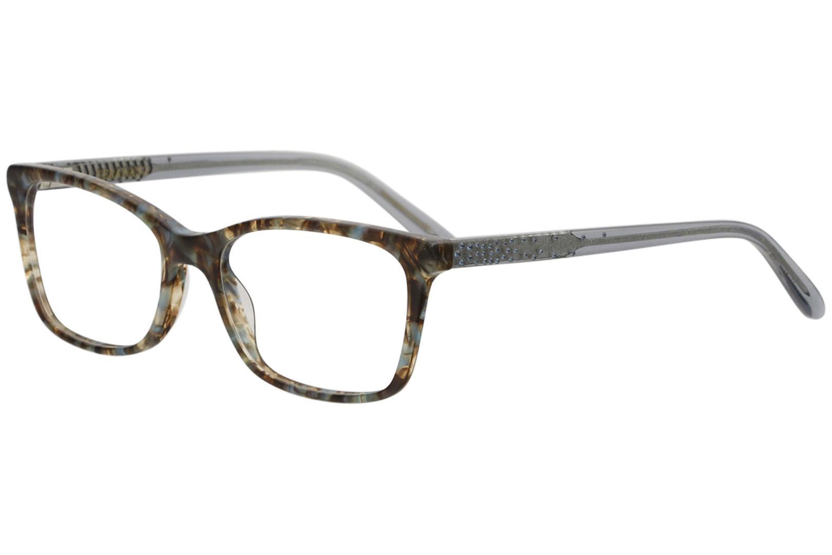 5246bfbe817 Vera Wang Eyeglasses Silvia Full Rim Optical Frame by Vera Wang. Touch to  zoom