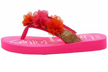 Lindsay Phillips Girl/'s Adriana SwitchFlops Pink Flip Flops Sandals Shoes