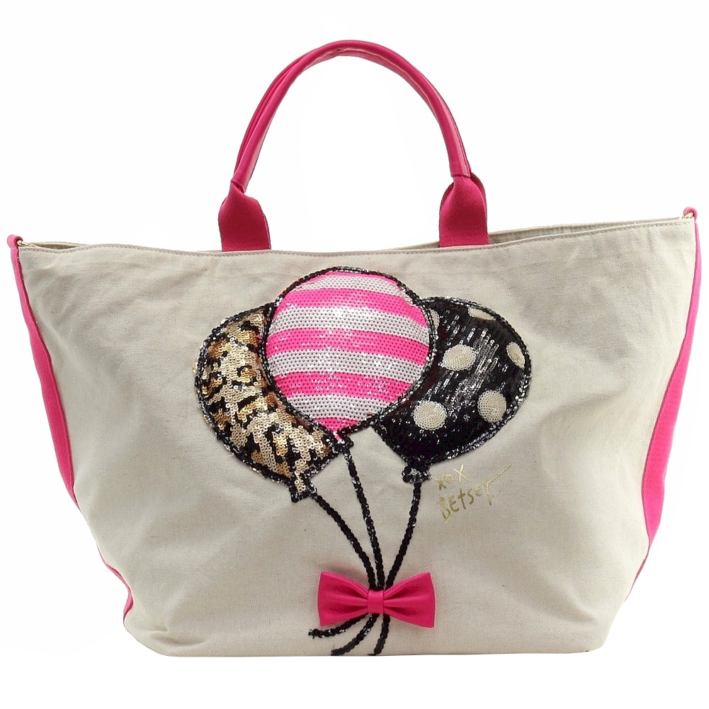 Betsey Johnson Women S Amuse Me Balloon Tote Handbag