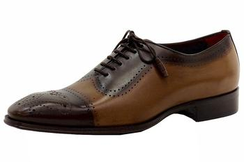 Mezlan Men's Serrano Leather Spectator Oxfords Shoes