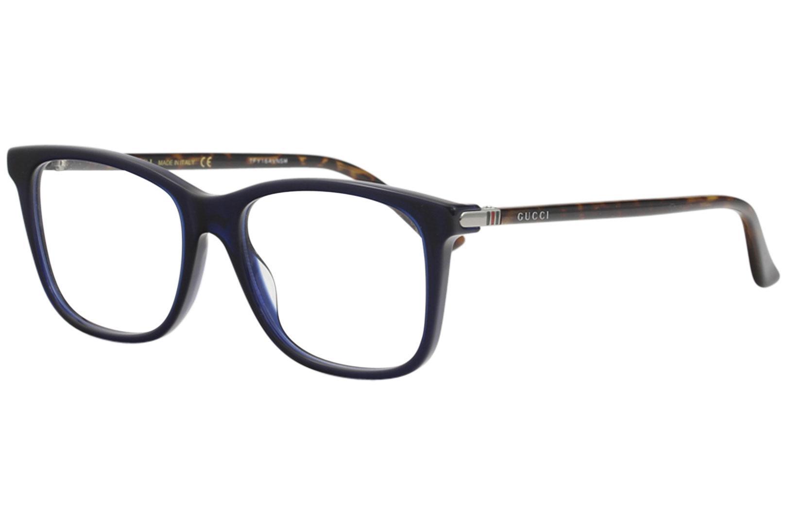 Gucci Men\'s Eyeglasses GG0018O GG/0018/O Full Rim Optical Frame