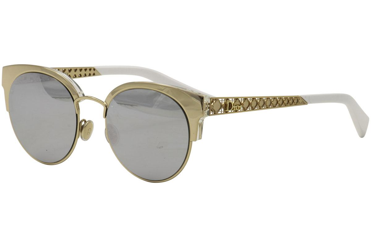 ea0582b798848 Christian Dior Women s Diorama Mini Round Cat Eye Sunglasses by Christian  Dior
