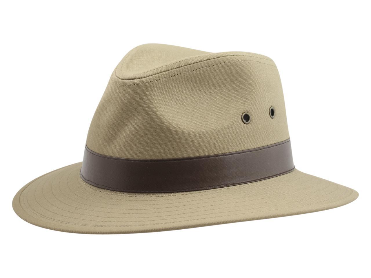 150c808ab Henschel Men's Outback Cotton Canvas Safari Hat