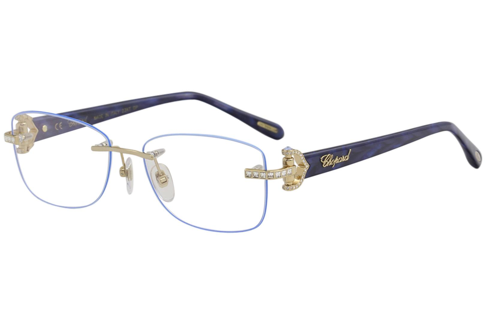 a9f3293b898 Chopard Womens Eyeglasses VCHC01S VCH   C01S Rimless Optical Frame