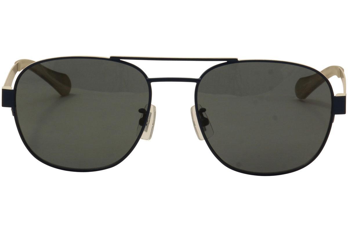 46cfbdcf81 Hugo Boss Men s 0896FS 0896 F S Polarized Square Sunglasses