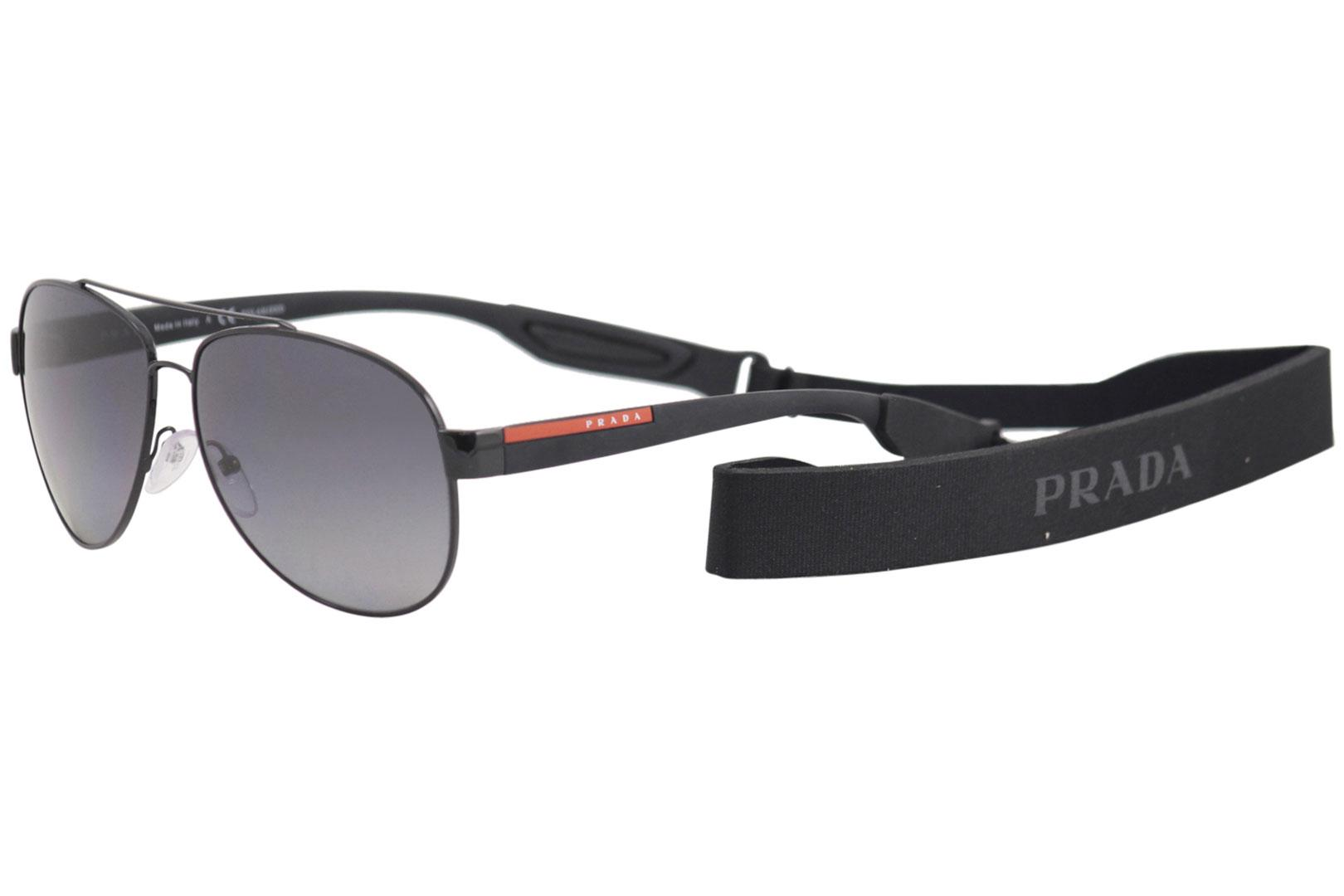 af5747cff9ca3 ... real polarized sunglasses by prada. touch to zoom 4fe9d 12950