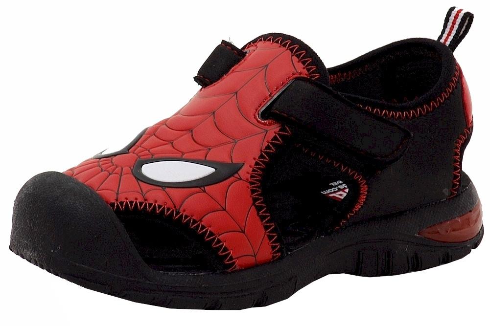 Image of Spiderman Toddler Boy's Fashion Fisherman Sandals Shoes - Black - 5 M US Toddler