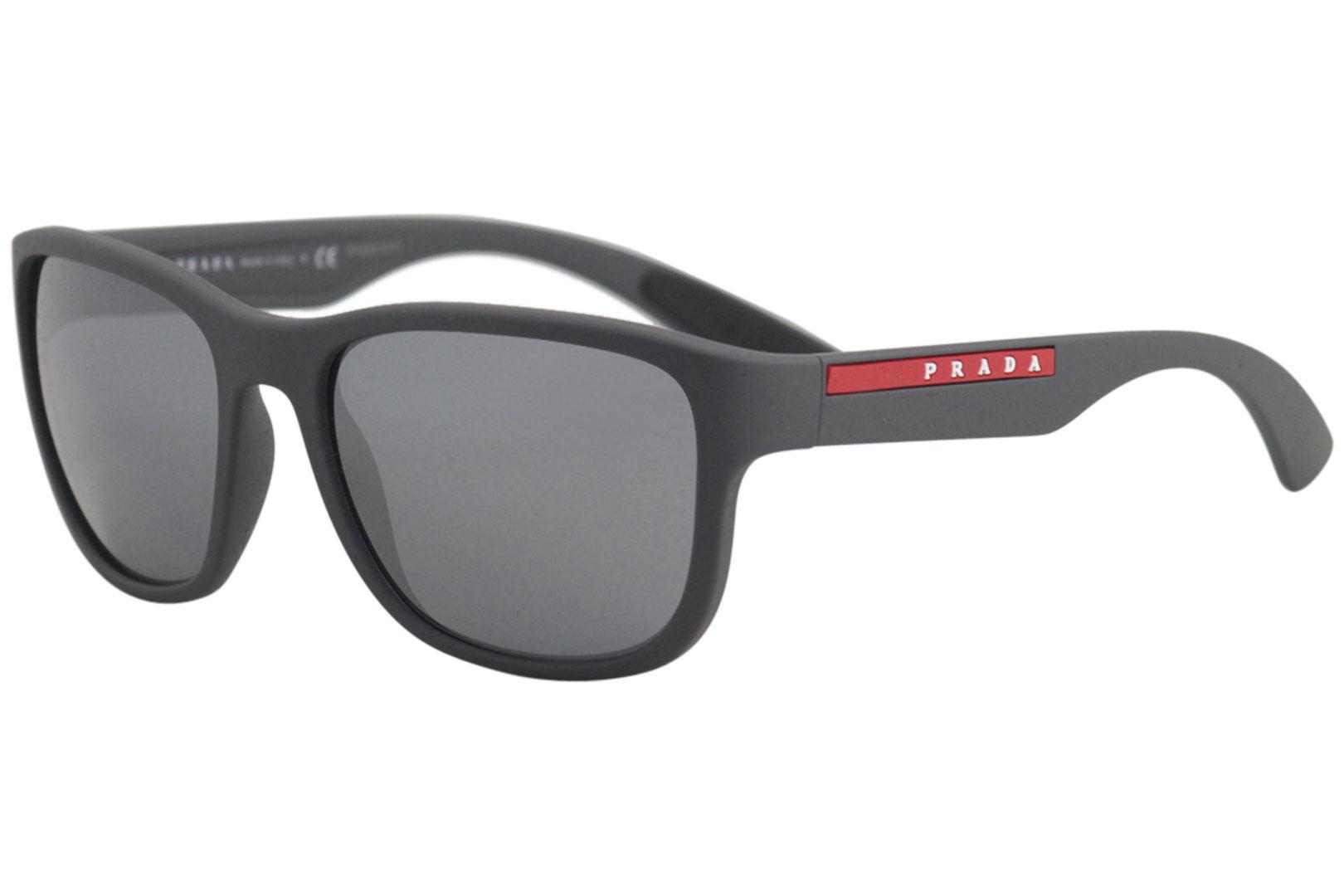 e40e49abf34f Prada Men s Linea Rossa SPS01U SPS 01 U Fashion Square Sunglasses by Prada.  Touch to zoom