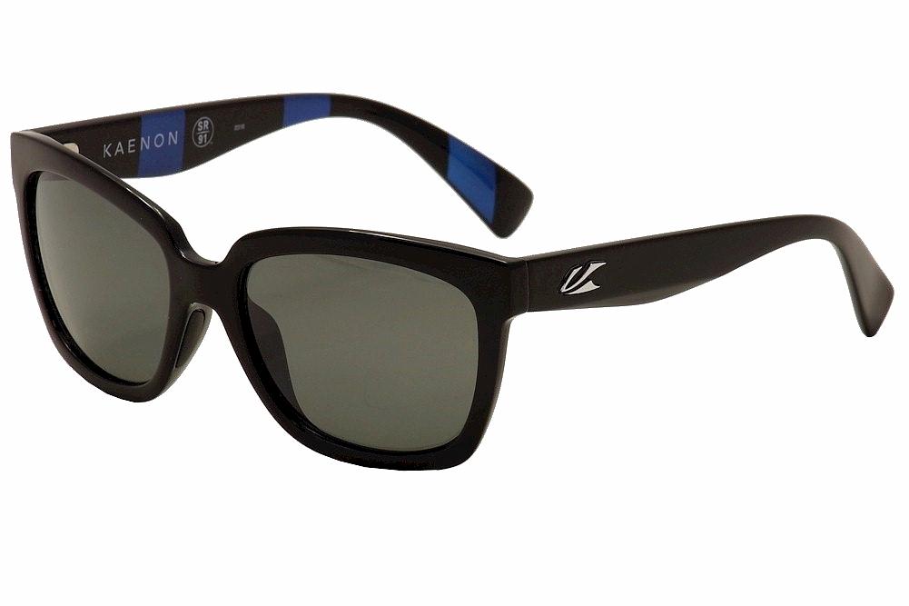 Image of Kaenon Polarized Women's Cali 219 Fashion Sunglasses - Black - Lens 54 Bridge 19 Temple 139mm