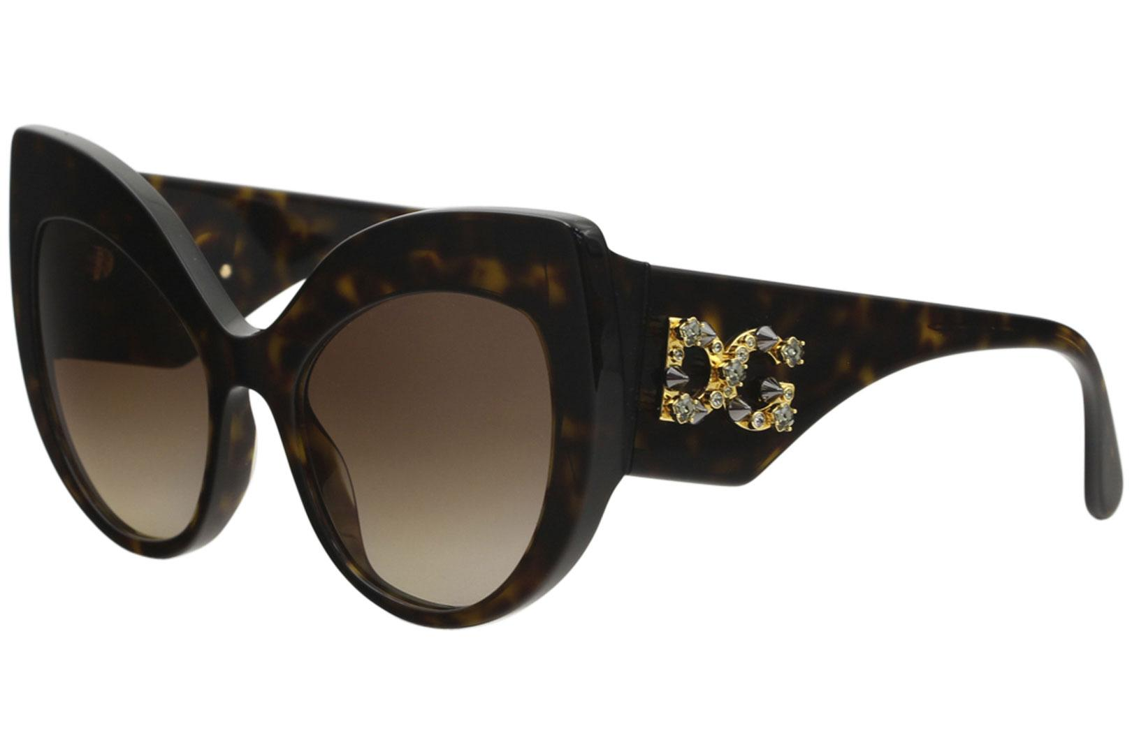 817ec79f72b3 Dolce   Gabbana Women s D G DG4321 DG 4321 Fashion Cat Eye Sunglasses by  Dolce   Gabbana