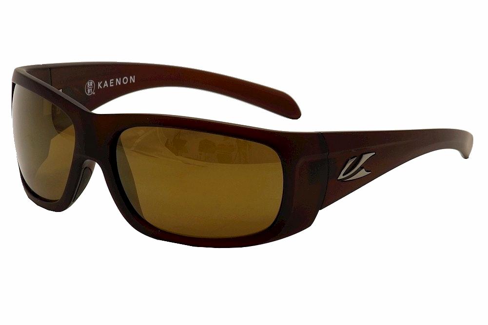 Image of Kaenon Polarized Cliff 035 Sunglasses - Brown - Lens 63 Bridge 17 Temple 125mm