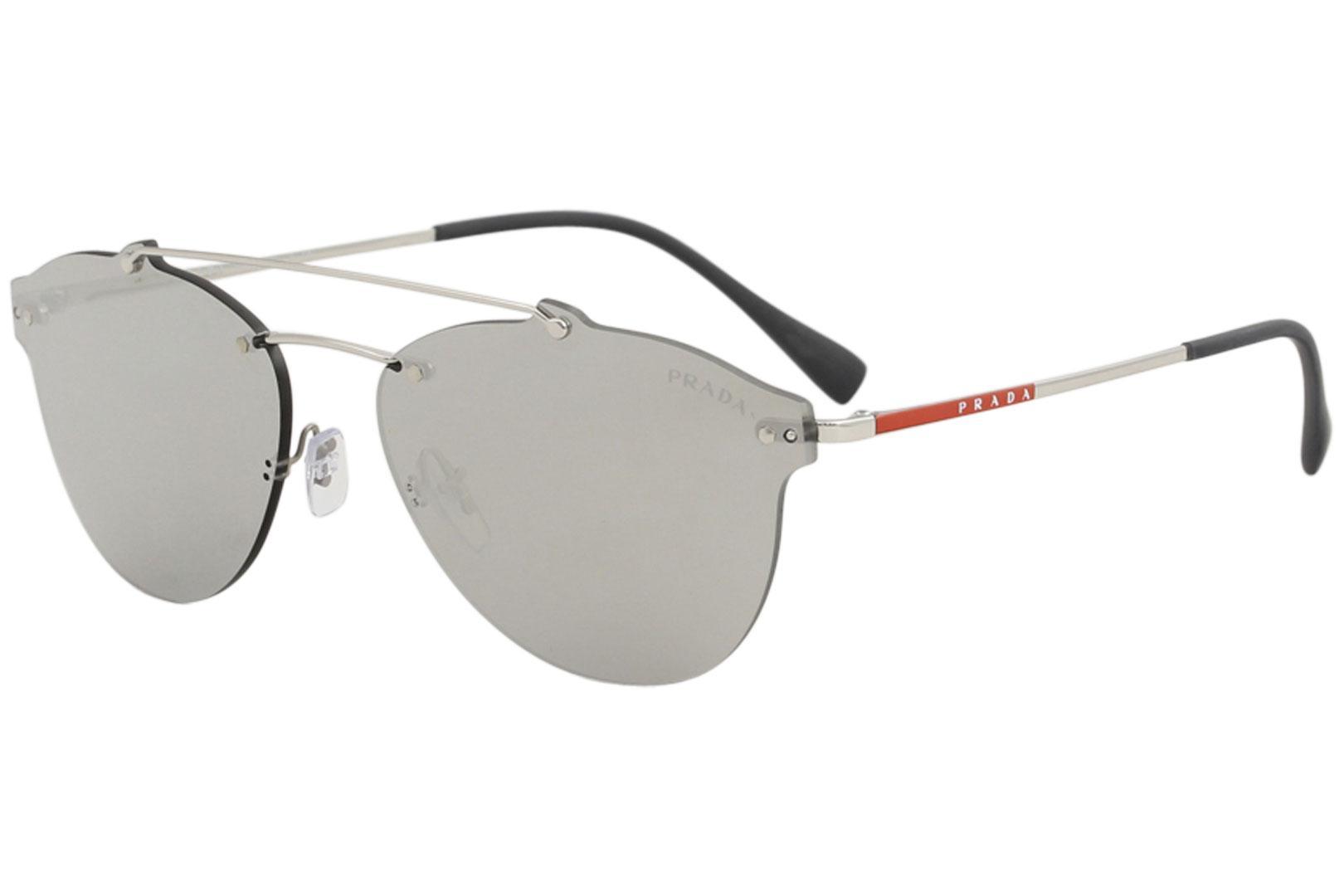 Prada Linea Rossa Men's SPS55T SPS/55T Fashion Pilot Sunglasses