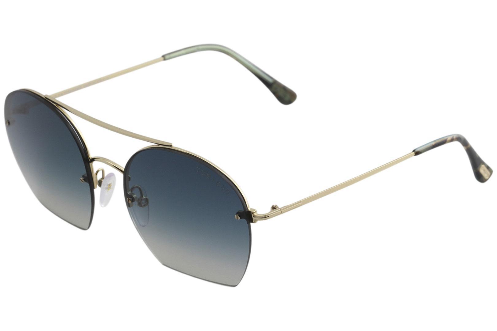 cc5d55a9784 Tom Ford Women s Antonia TF506 TF 506 Fashion Pilot Sunglasses
