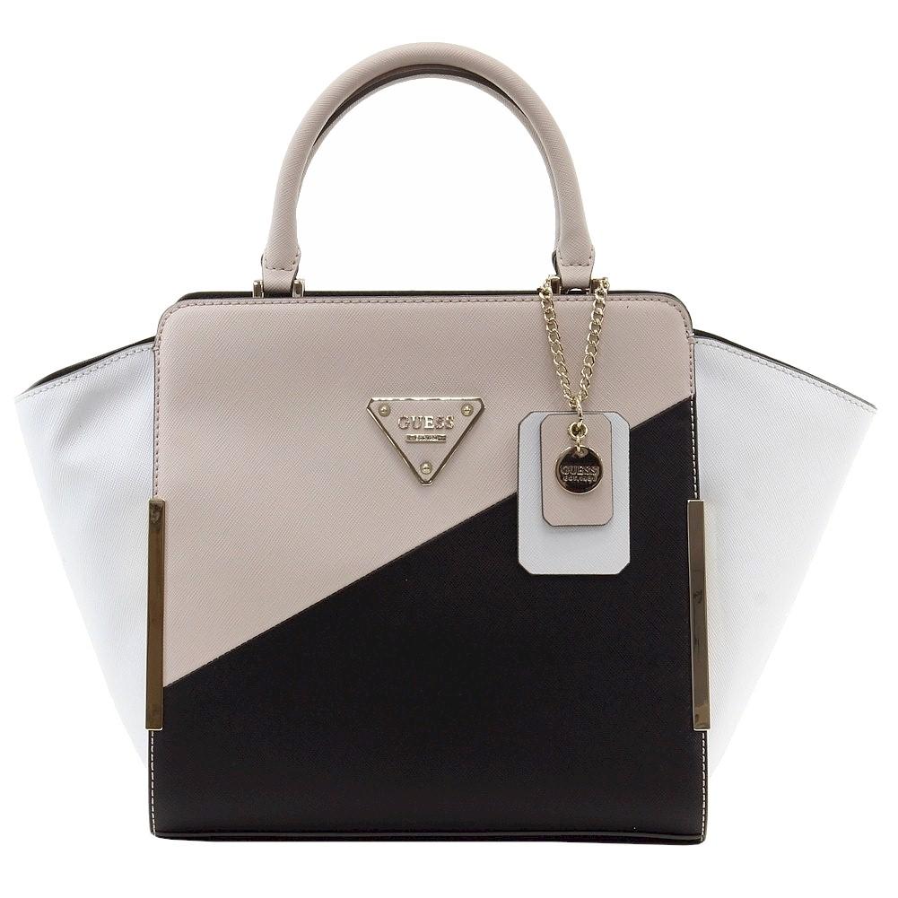 Guess Women s Amber Chain Satchel Handbag