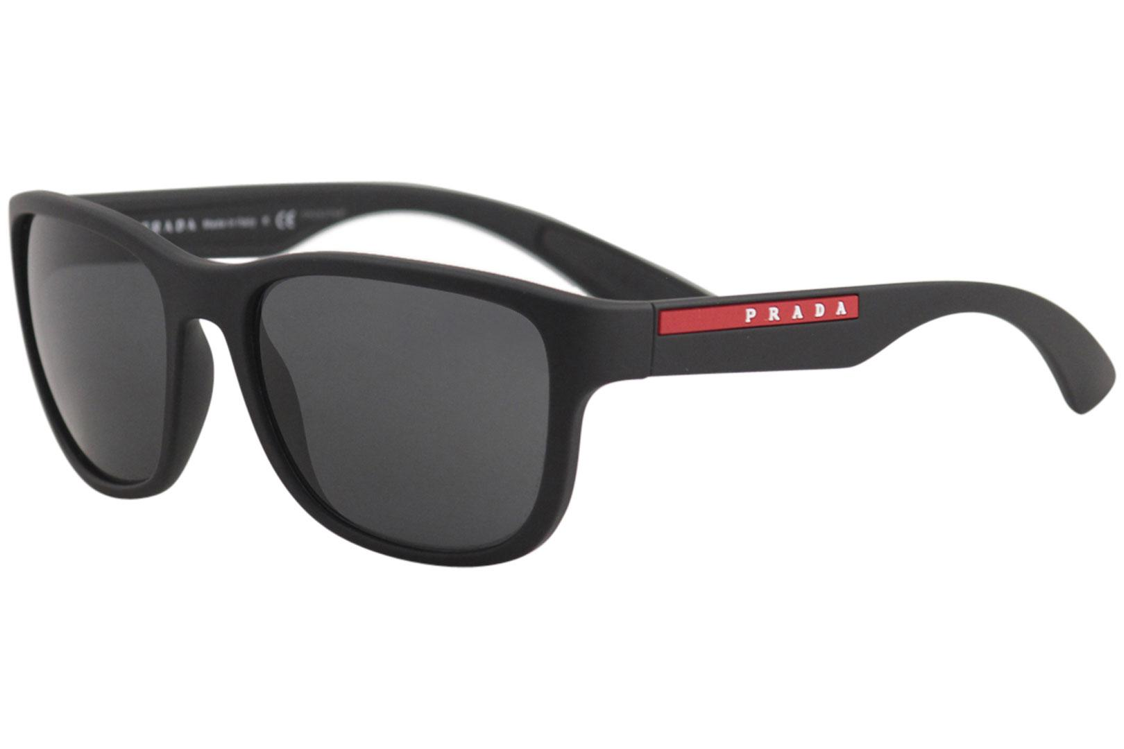 69ee5b330ab32 Prada Men s Linea Rossa SPS01U SPS 01 U Fashion Square Sunglasses
