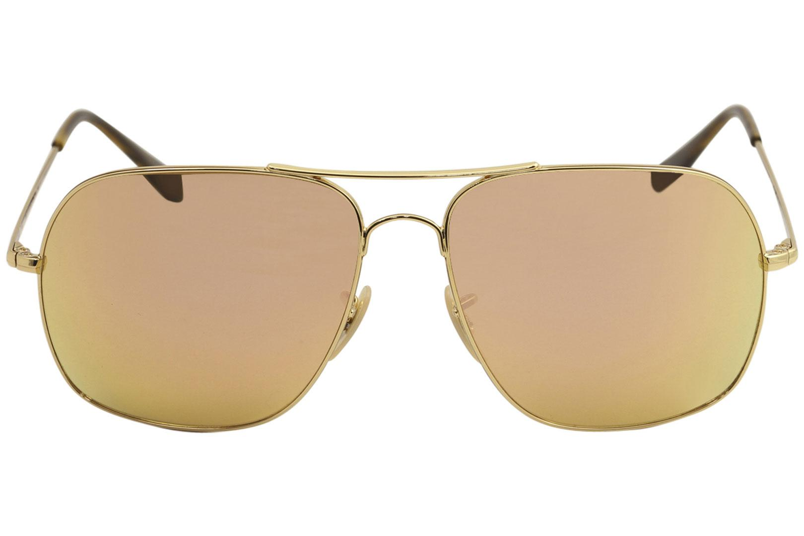 155622e3074 by Ray Ban. 12345. 12345. Color  Gold Pink Polarized-Orange Mirror - 001 I0