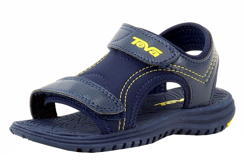 Image of Teva Toddler Boy's Psyclone 6 Fashion Sandals Shoes - Blue - 5 M US Toddler