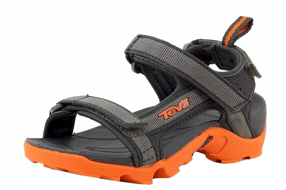 Image of Teva Boy's Tanza Fashion Sport Water Sandals Shoes - Grey - 11 M US Little Kid