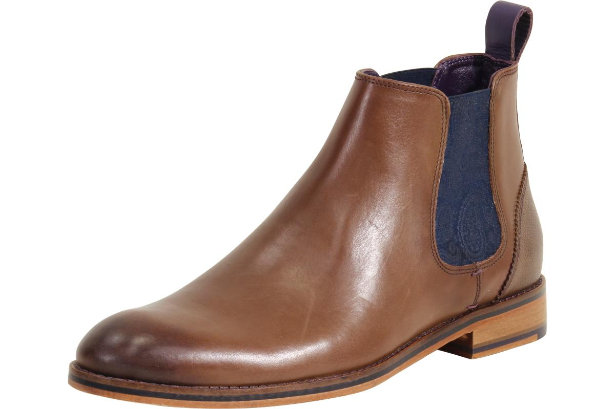 18236a4be868 Ted Baker Men s Camroon Leather Chelsea Boots Shoes