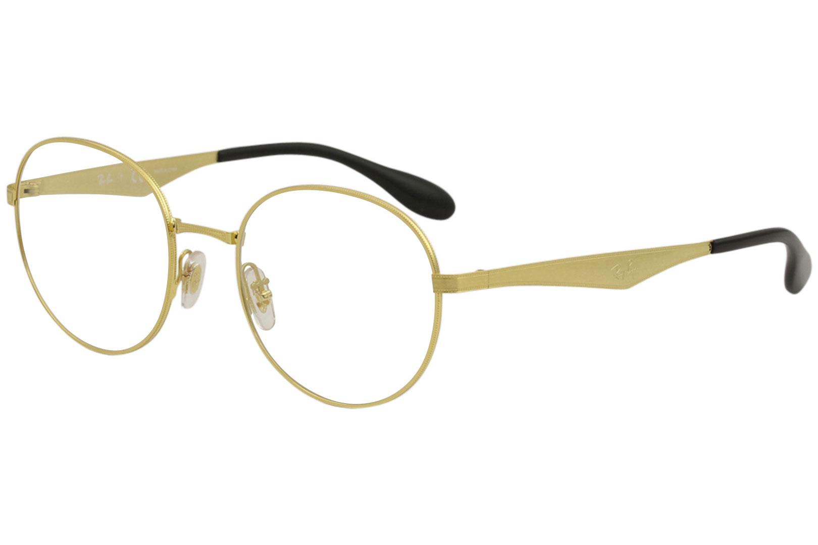 e986ec1f06ae Ray Ban Eyeglasses RX6343 RX 6343 2860 Gold Full Rim RayBan Optical ...