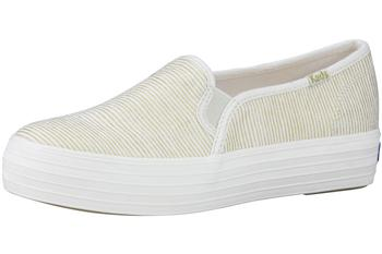 Keds Women's Triple Decker Stripe Loafers Shoes UPC: