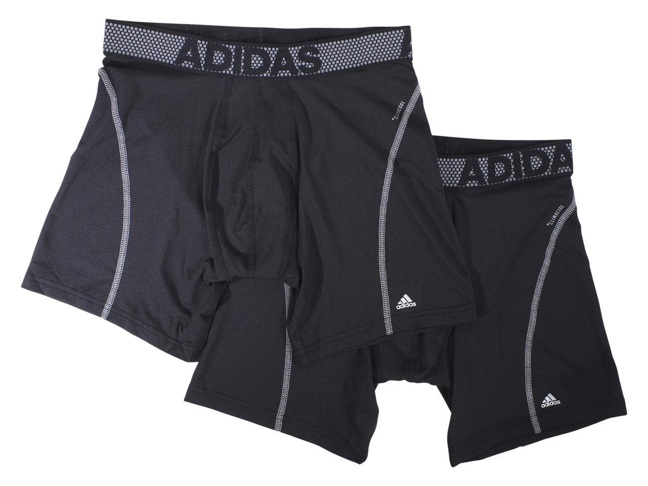 Adidas Men's 2-Pc Sport Performance Climacool Boxer Briefs Underwear