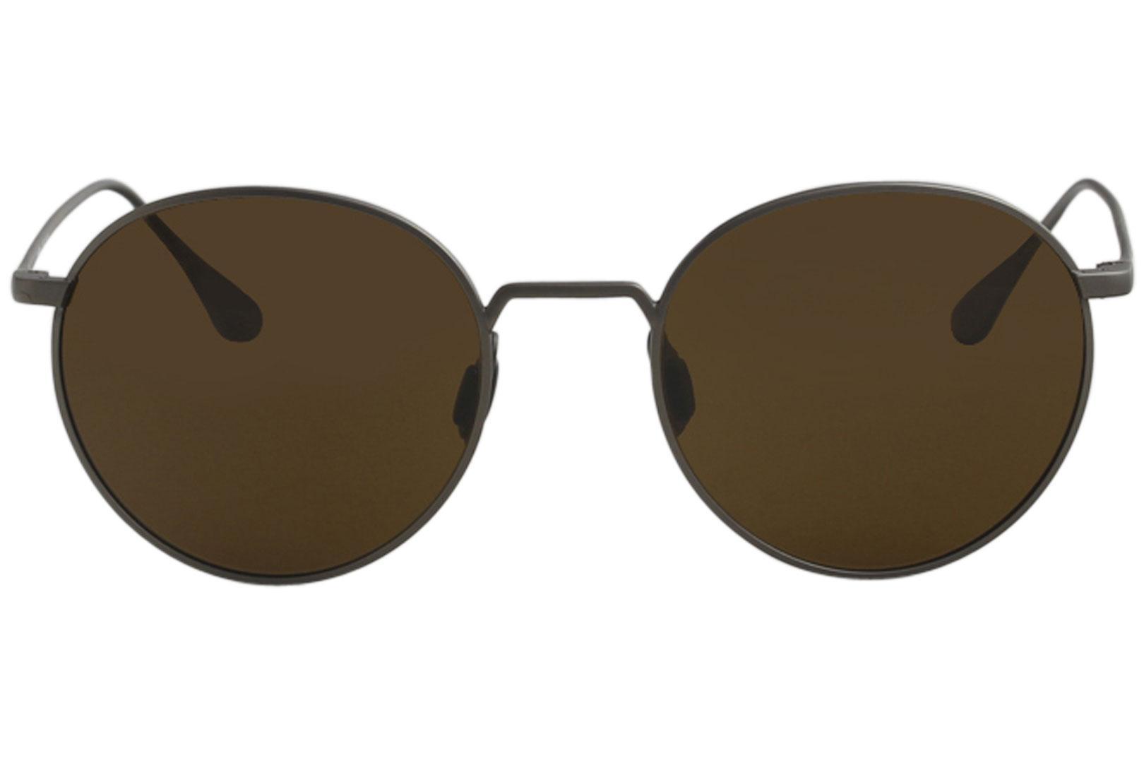 60a7fadb104 Vuarnet Men s Swing Round VL1610 VL 1610 Fashion Titanium Sunglasses