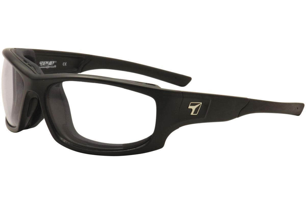 Image of 7Eye AirShield PanHead Wrap Sport Sunglasses Asian Fit - Black