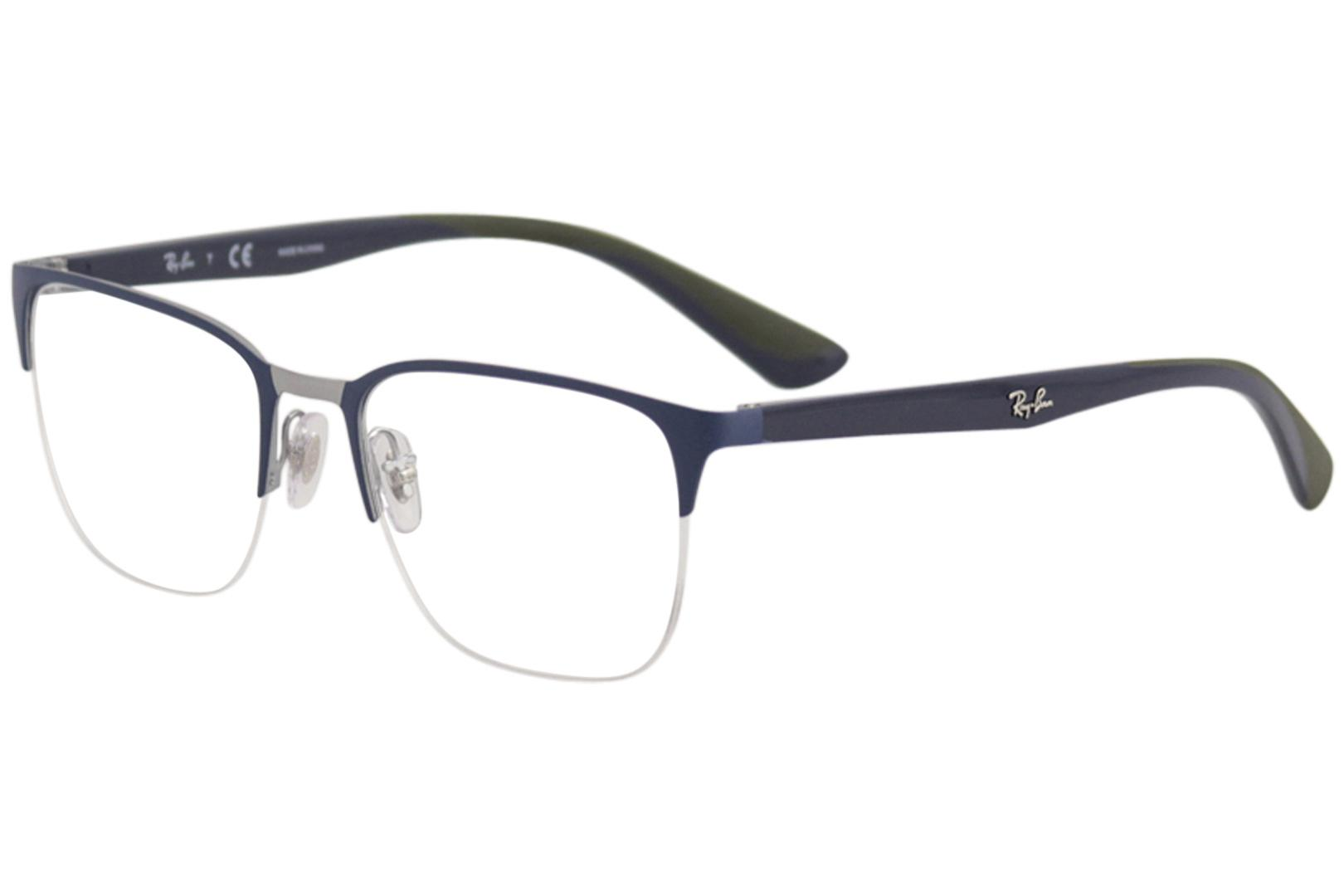 ff92c75ce58f Ray Ban Men's Eyeglasses RB6428 RX/6428 Half Rim Optical Frame by Ray Ban