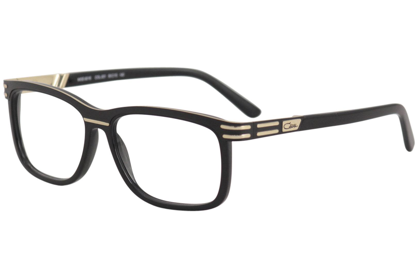 1b35eeb4bf620 Cazal Men s Eyeglasses 6016 001 Black Gold Full Rim Optical Frame ...
