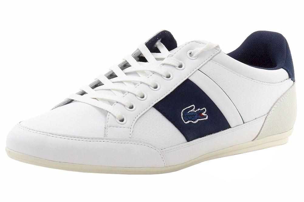 350ea21c9185b6 Lacoste Men s Chaymon 216 1 Fashion Leather Suede Sneakers Shoes