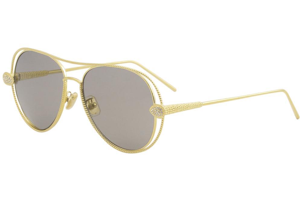0dbca213174a9 Boucheron Women s Serpent Boheme BC0030S BC 0030 S Fashion Pilot Sunglasses