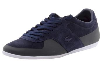 Lacoste Men's Turnier 116 1 Fashion Leather/Suede Sneakers Shoes
