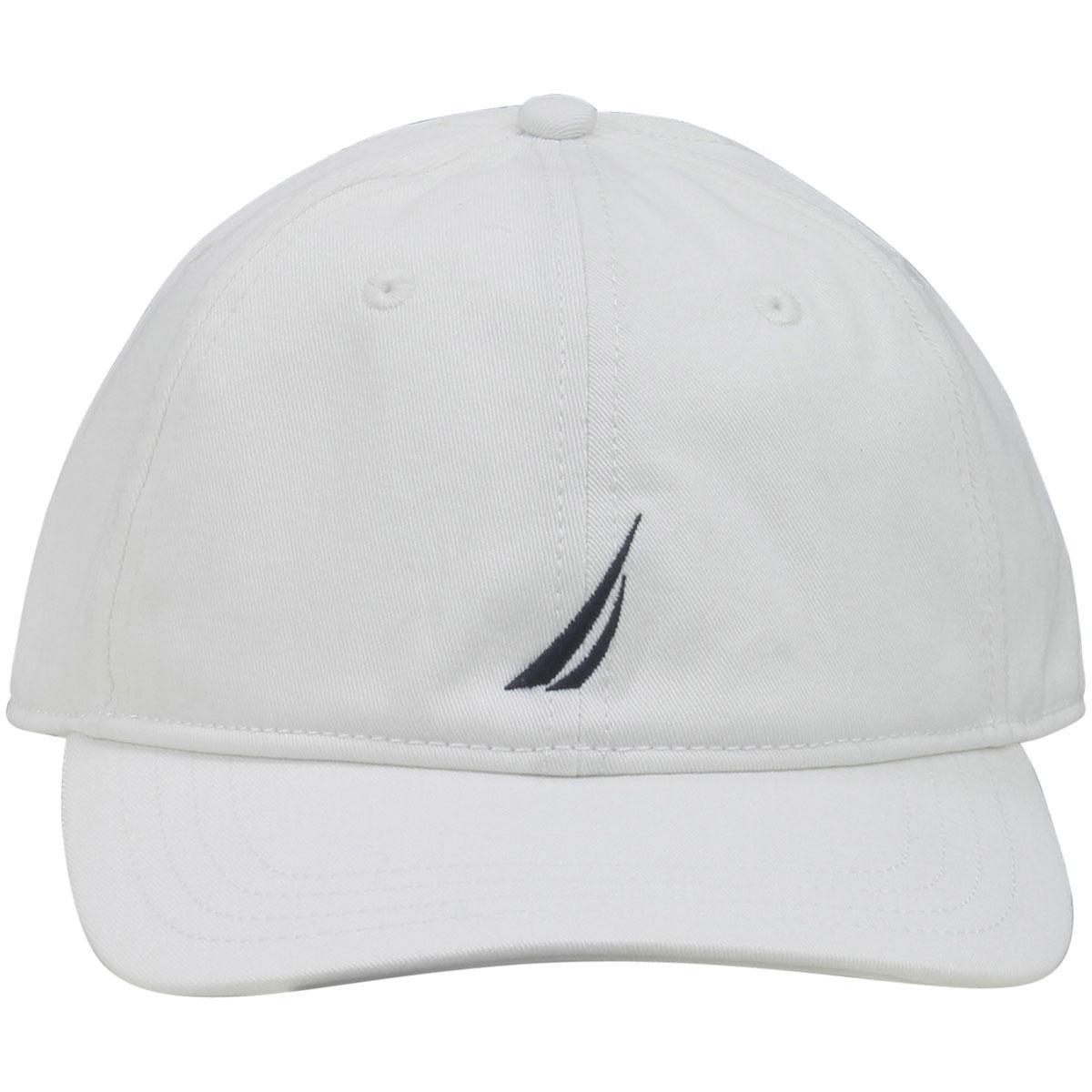 30d77f6c9d328 Nautica Anchor J-Class Adjustable Cotton Cap Baseball Hat (One Size Fits  Most)