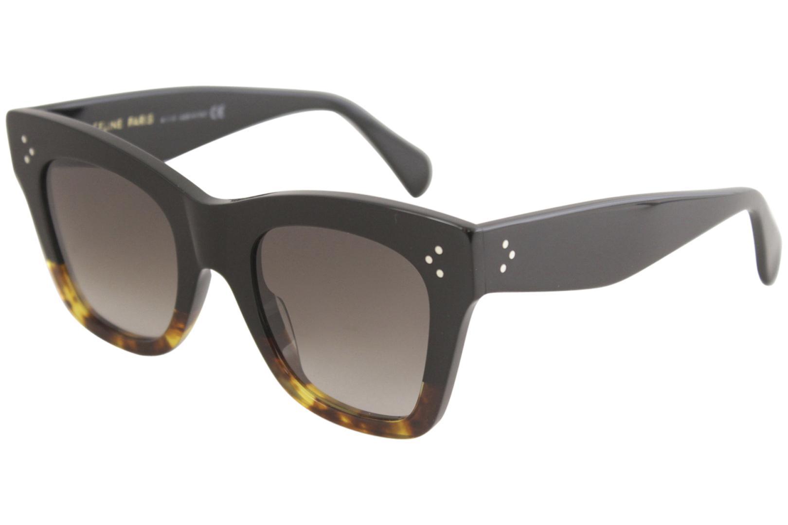 99005f5b1ff Celine Women s CL4004IN CL 4004 IN Fashion Cat Eye Sunglasses