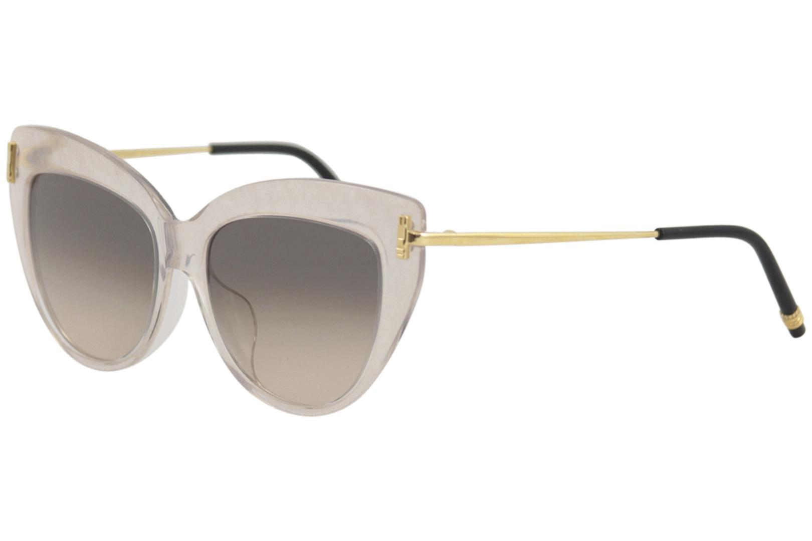 Image of - Beige Transparent Gold/Grey Gradient 003 - Lens 53 Bridge 19 Temple 140mm