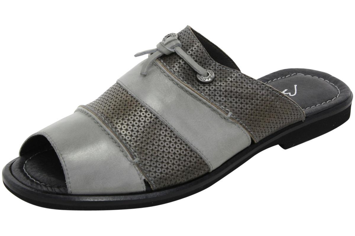 Image of Bacco Bucci Men's Laguna Slip On Mule Sandals Shoes - Grey - 8 D(M) US