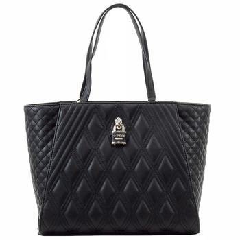 Guess Women's Shea Quilted Carry-All Tote Handbag  UPC: