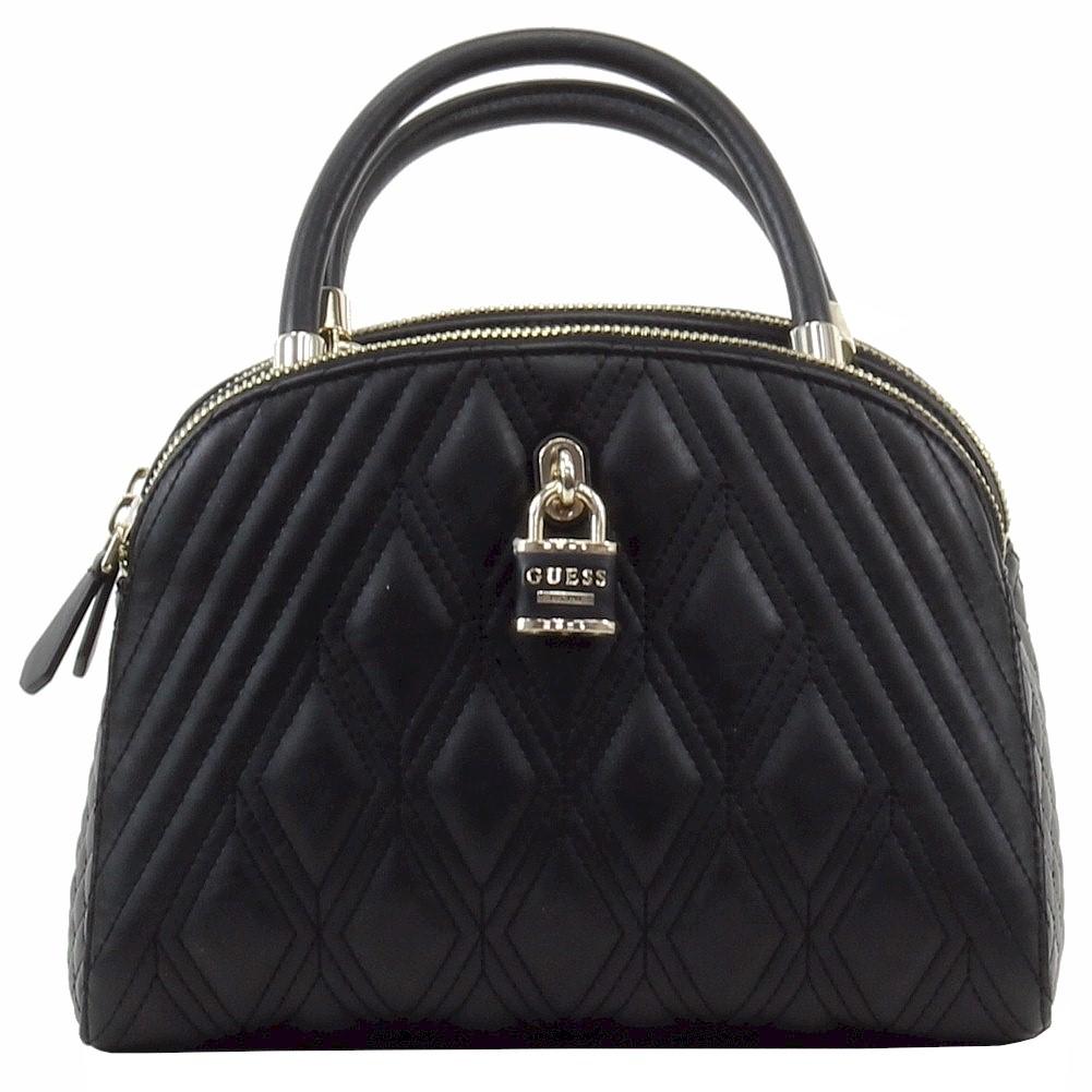Guess Women s Shea Quilted Cali Satchel Handbag 63489edd48