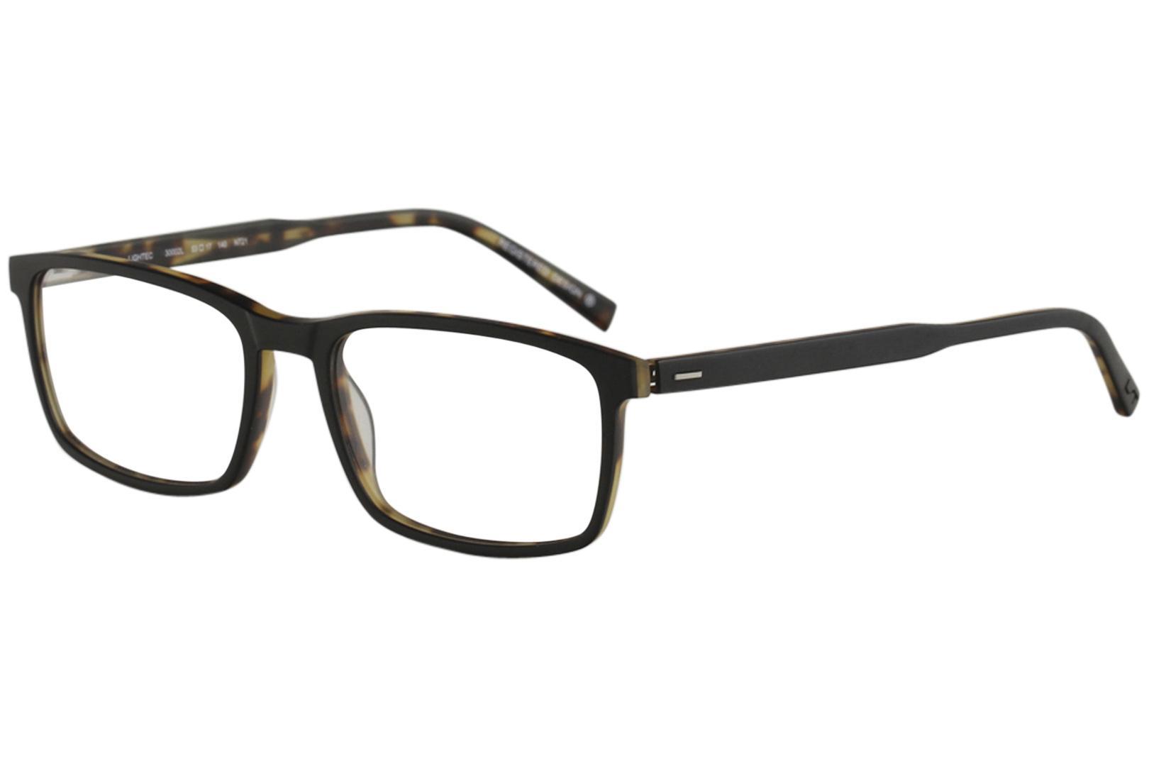 Morel Men\'s Eyeglasses Lightec 30002L 30002/L Full Rim Optical Frame