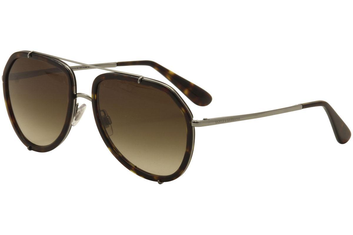 Dolce & Gabbana Woman\'s DG2161 DG/2161 Fashion Pilot Sunglasses