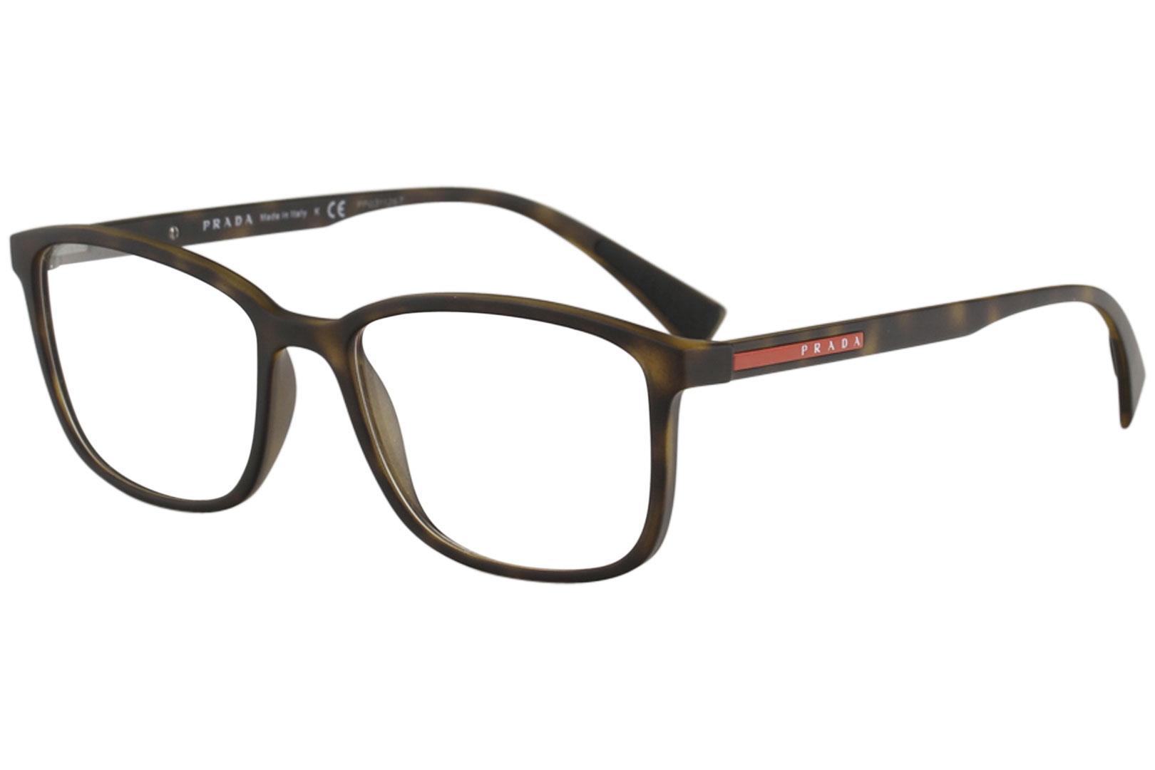 Prada Linea Rossa Men's Eyeglasses VPS04I VPS/04I Full Rim Optical Frame