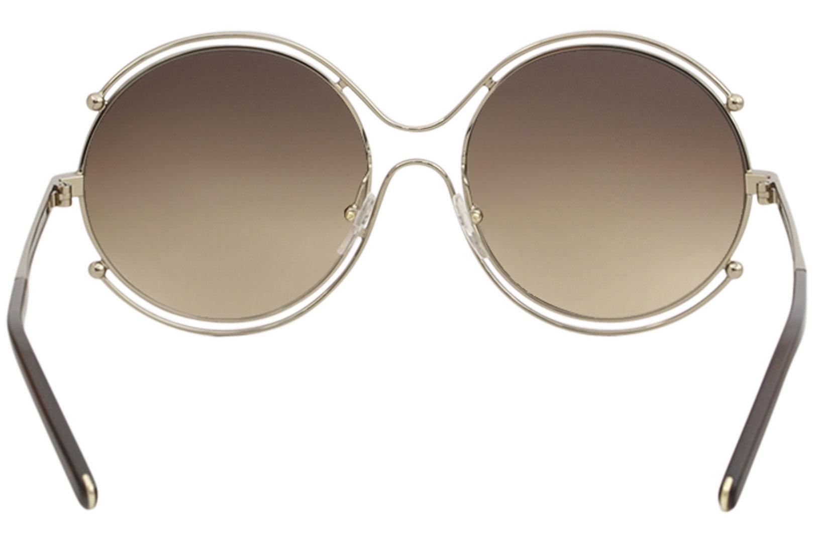 40f8fb9ff0e3 Chloe Women s CE 122S CE122S Fashion Round Sunglasses by Chloe
