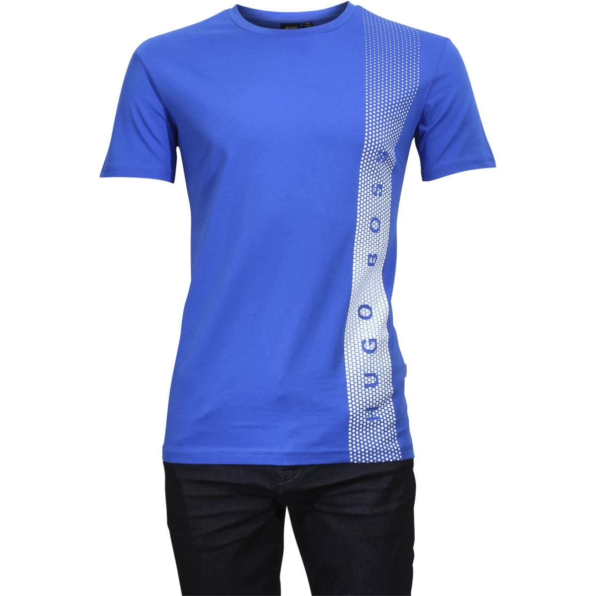 c0740583 Hugo Boss Men's Crew Neck UV Protection Slim Fit Short Sleeve T-Shirt