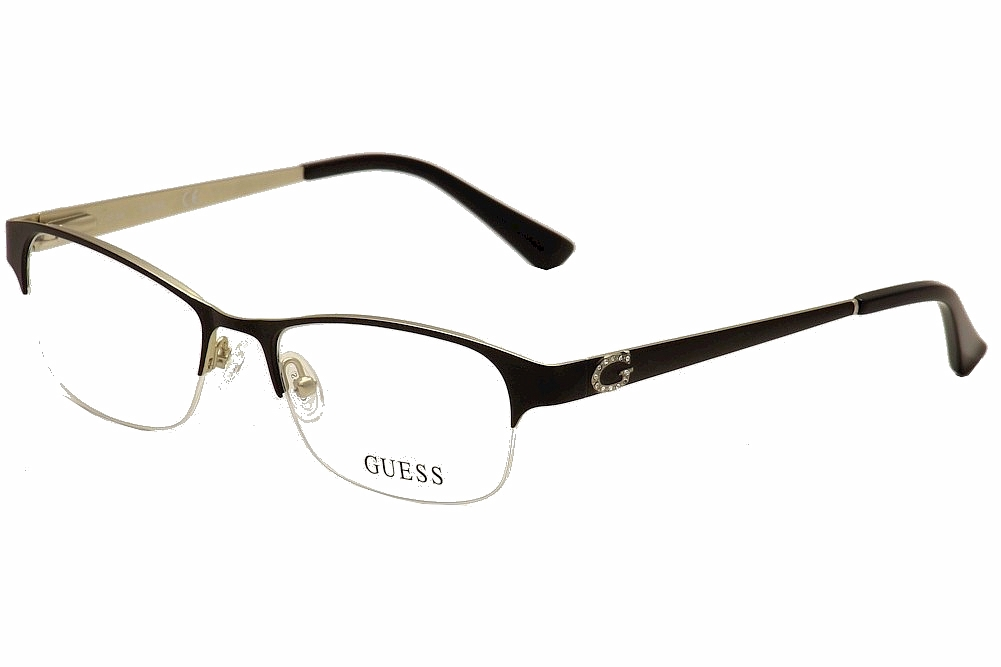 Guess Women\'s Eyeglasses GU2567 GU/2567 Half Rim Optical Frame